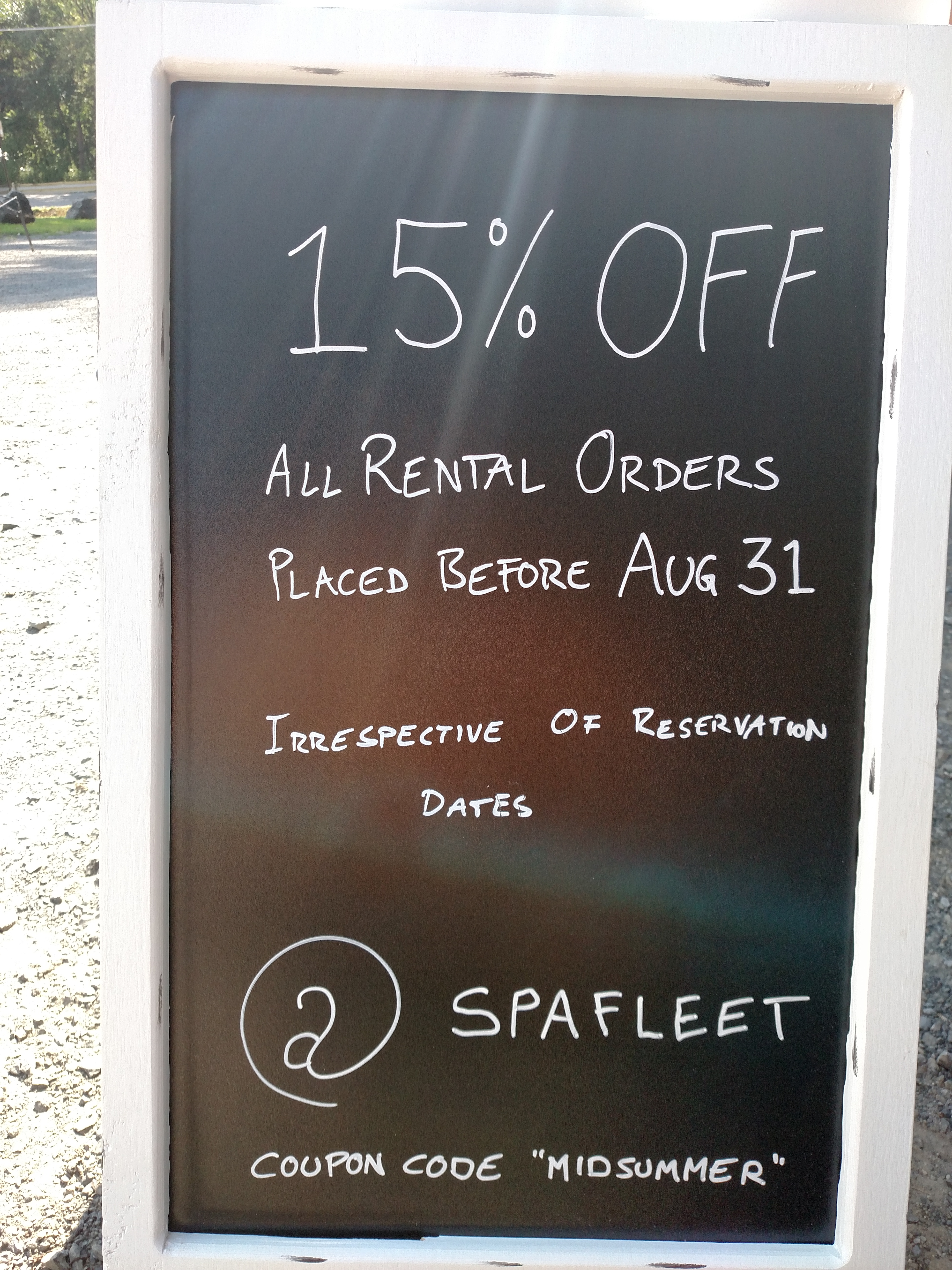 Spa Fleet Rental Orders